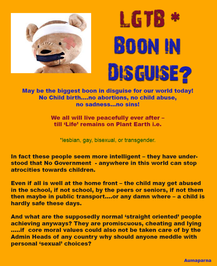 LGTB – boon in disguise?