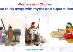 Women and chums – Associated Myths and Superstitions