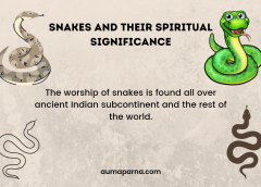 Snakes and their spiritual Significance
